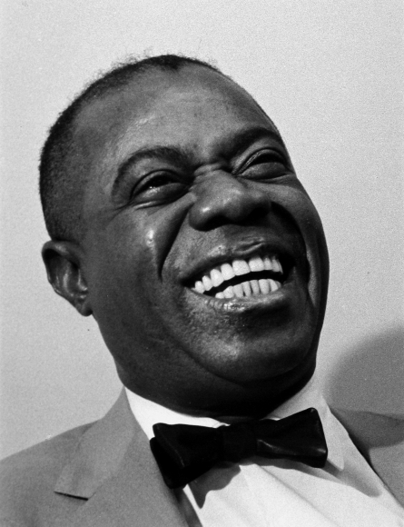 Ray Fisher - Louis Armstrong, Miami Beach, FL, 1957 - Howard Greenberg Gallery
