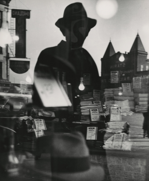 Lisette Model - First Reflection, New York, 1940 - Howard Greenberg Gallery