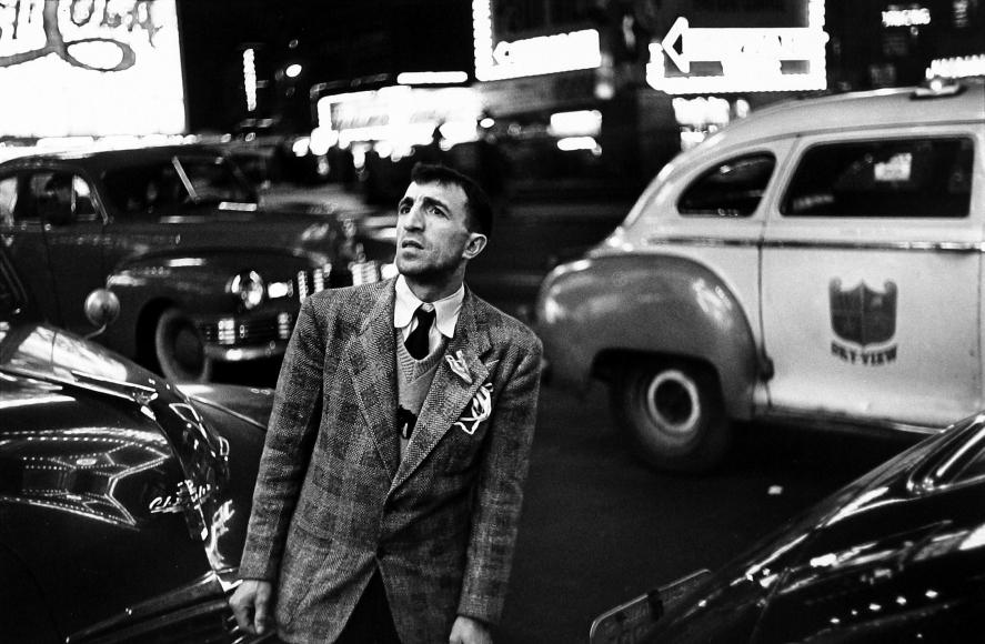 Louis Faurer - Champion, New York City, 1950 - Howard Greenberg Gallery