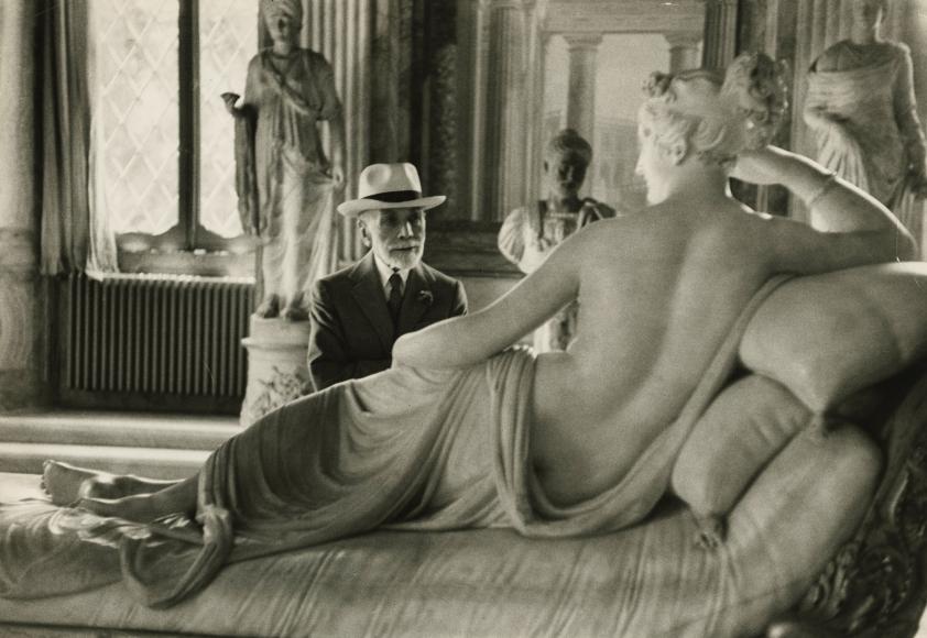 "David Seymour ""Chim"" - Bernard Berenson, Rome, 1955 - Howard Greenberg Gallery"