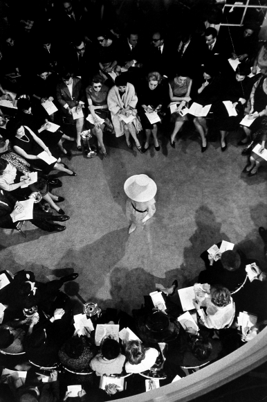 Henry Wolf - Paris Fashion Show for the Press, 1962 - Howard Greenberg Gallery