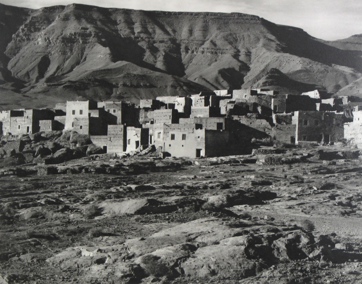 Paul Strand - Casbah, Valley of the Ziz, Morocco, 1962 - Howard Greenberg Gallery