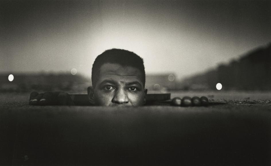 Gordon Parks - Emerging Man, Harlem, New York, 1952 - Howard Greenberg Gallery