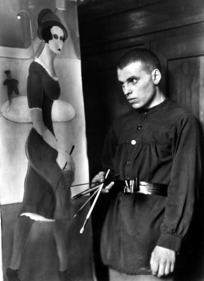 August Sander - The Painter Brockmann, 1922 - Howard Greenberg Gallery