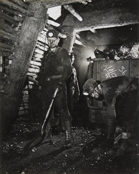 Jack Delano - Coal Miner, Pottsville, PA, 1938- Howard Greenberg Gallery