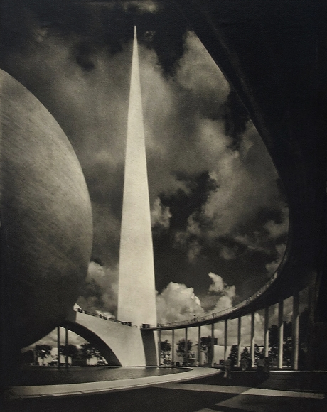 Adolf Fassbender - Dynamic Symbol, New York World's Fair, 1939 - Howard Greenberg Gallery