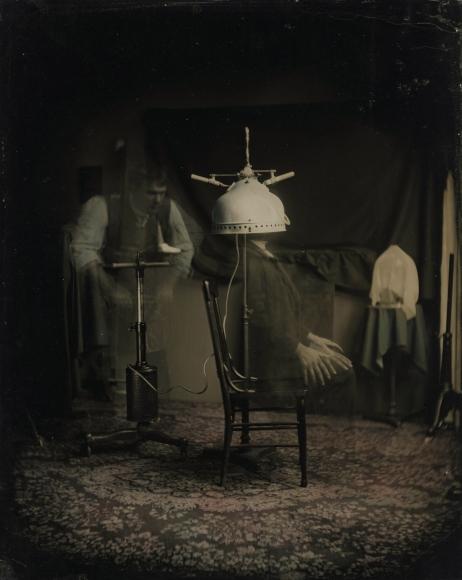 Mark Osterman - Pnuematic Capillerator II, 2001 - Howard Greenberg Gallery