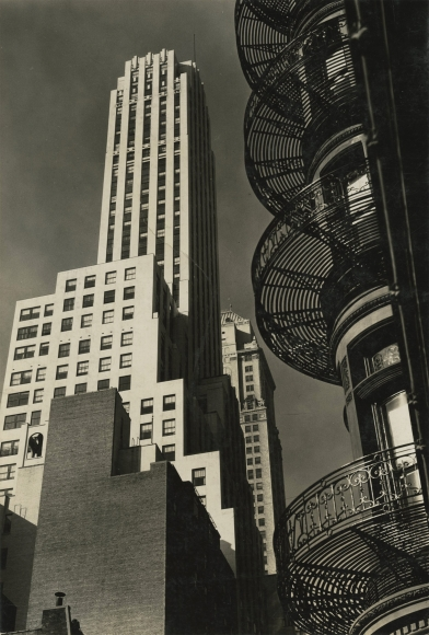 Berenice Abbott & Charles Marville: The City in Transition 2014 Howard Greenberg Gallery
