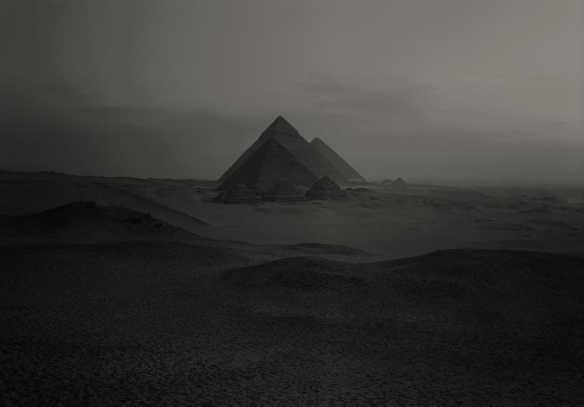 Giza #70, Egypt, 1985, Archival pigment print; printed 2012