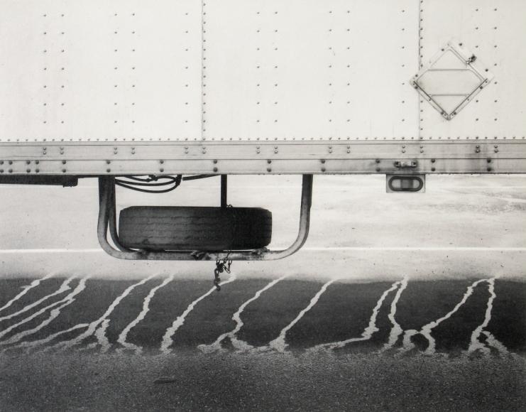 Mark Citret - Parked Big Rig, 1997  - Howard Greenberg Gallery