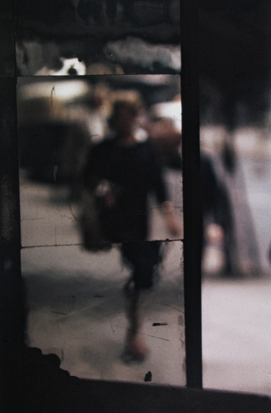 Saul Leiter, Shopper, 1953 Chromogenic print; printed later 14 x 11 inches