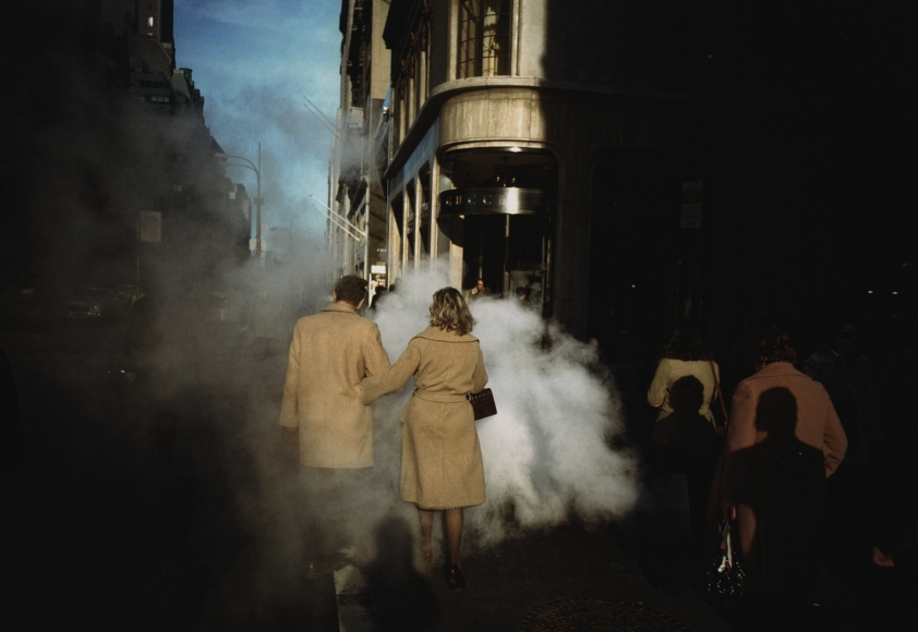 Joel Meyerowitz - Camel Coats, New York City, 1975 - Howard Greenberg Gallery