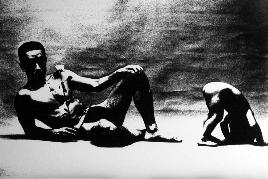 Eikoh Hosoe - Ordeal by Roses (Barakei) #2, 1962 - Howard Greenberg Gallery