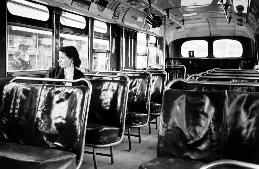 Dan Weiner - Bus Boycott, Montgomery, Ala., 1956 - Howard Greenberg Gallery