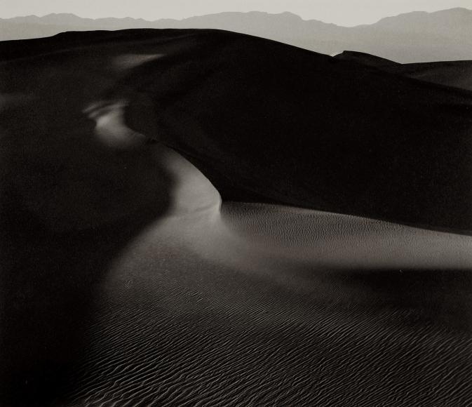 Mark Citret - Dunes #28, Death Valley, 2001 - Howard Greenberg Gallery