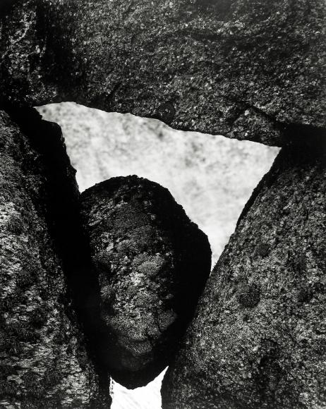 Aaron Siskind - Martha's Vineyard 112, 1954 - Howard Greenberg Gallery
