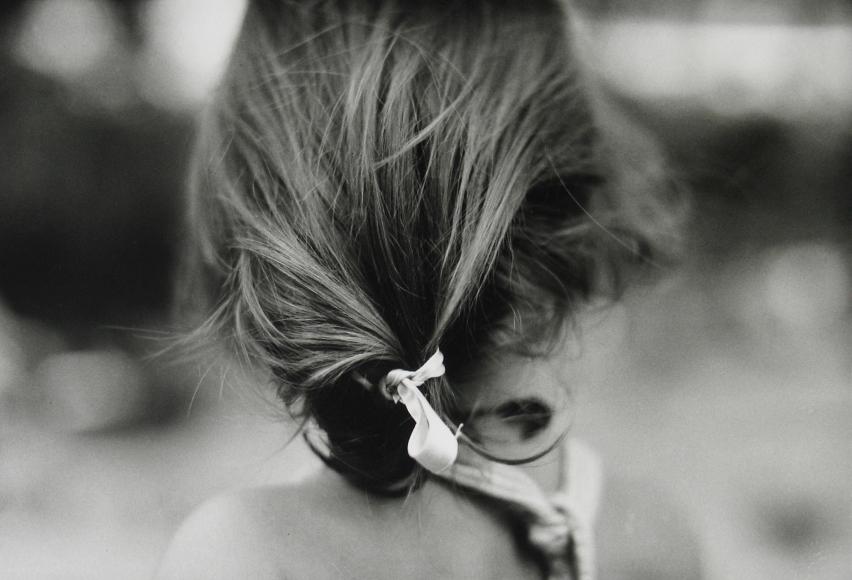 Saul Leiter - Joanna, c.1947 - Howard Greenberg Gallery