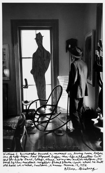 Allen Ginsberg: Vintage Photo Booth Strips 2011 Howard Greenberg Gallery