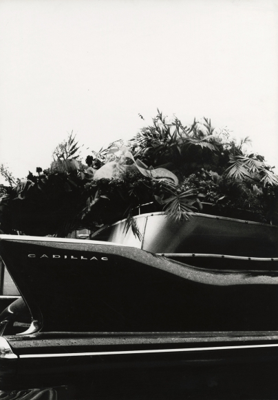 Robert Frank - Cadillac Hearse, 1961 - Howard Greenberg Gallery