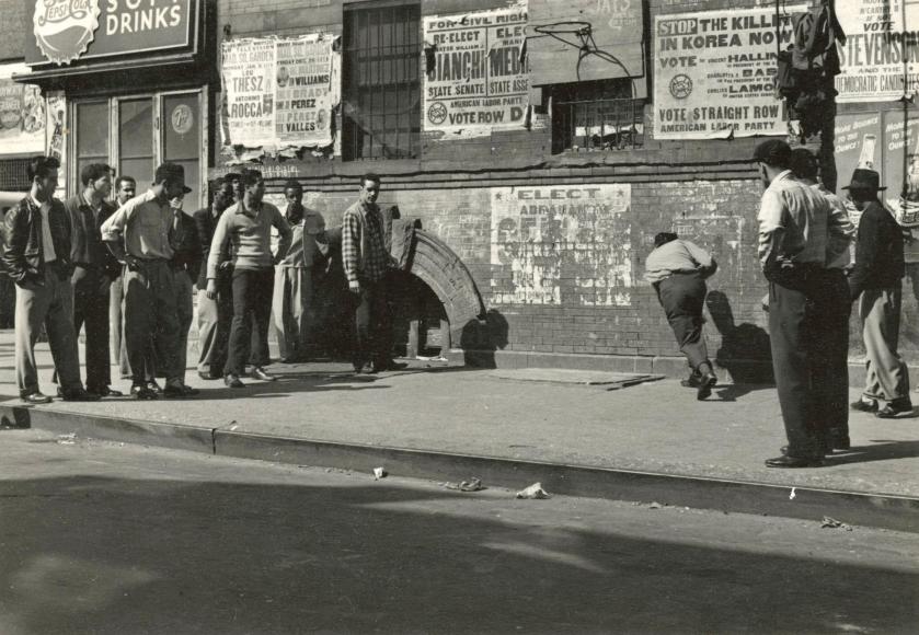 Leo Goldstein - Untitled, c.1950 - Howard Greenberg Gallery