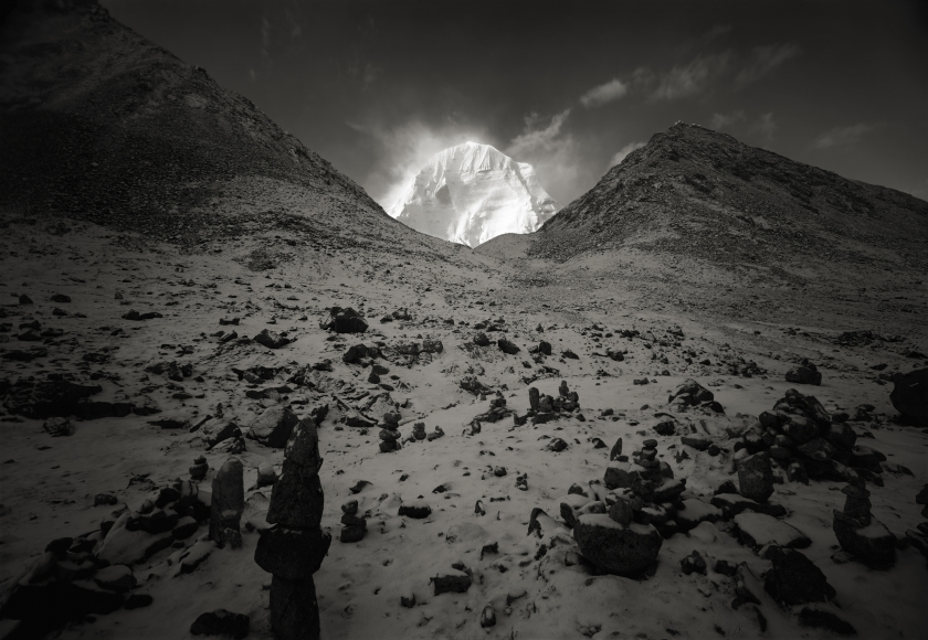 Kenro Izu - Kailash #75, Tibet, 2000 - Howard Greenberg Gallery
