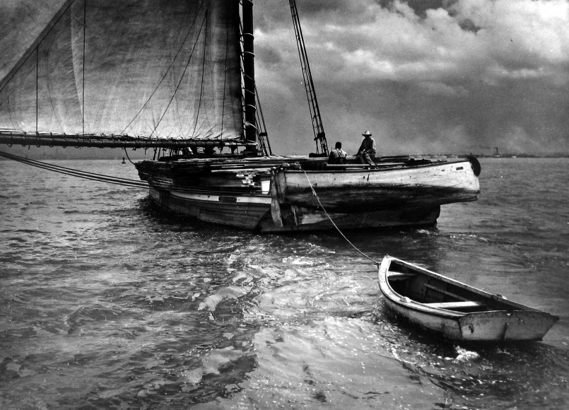 Adolf Fassbender - Just Drifting, 1953 - Howard Greenberg Gallery