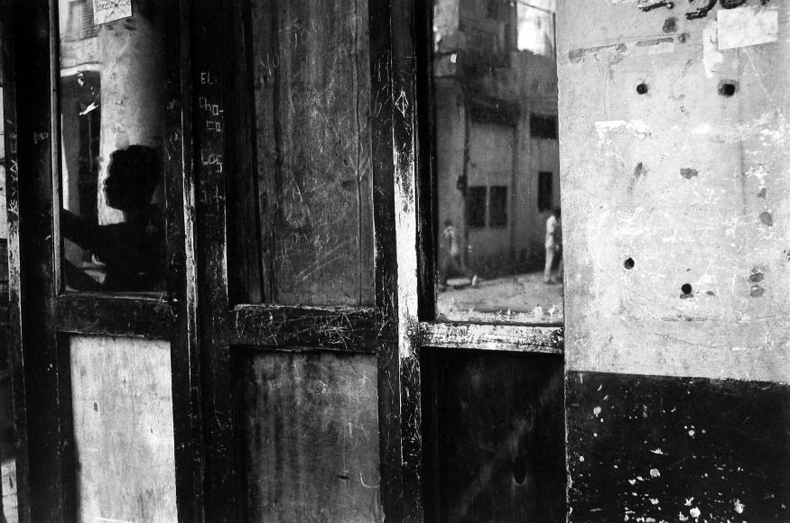 Judith Glickman - La Reina -Male Reflection, Cuba, 2003 - Howard Greenberg Gallery