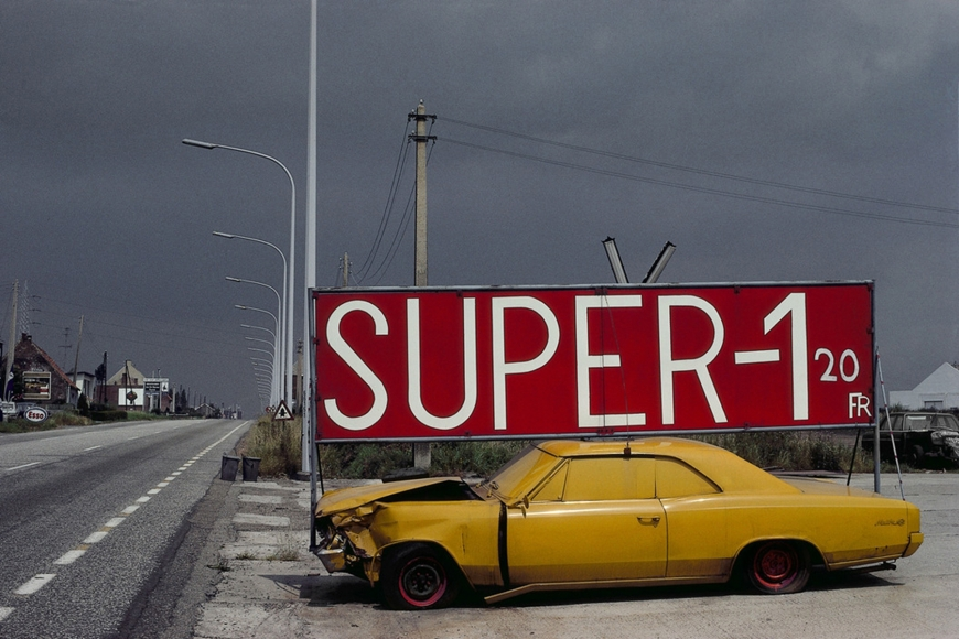 National Road #1, Boom, Province of Antwerp, Belgium, 1988, Archival pigment print; printed later