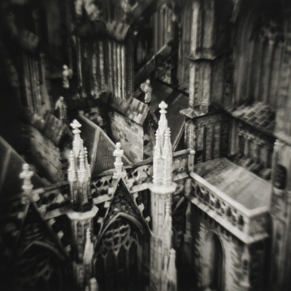 Eric Lindbloom - Cathedral, Madurodam, Netherlands, 1979 - Howard Greenberg Gallery