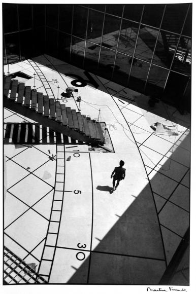Martine Franck - Grande Arche de la Defense, Paris, France, 1989 - Howard Greenberg Gallery