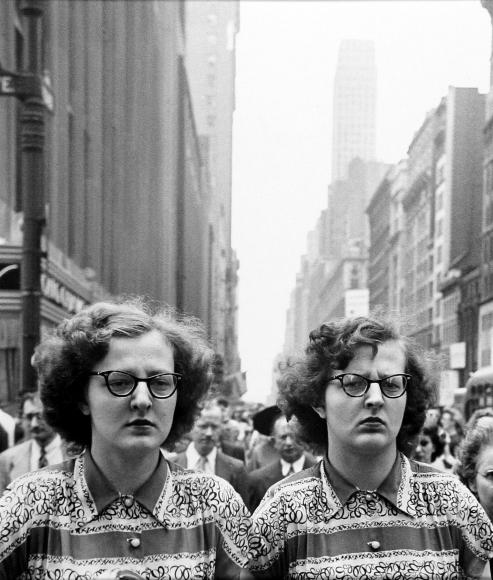 Louis Faurer - Twins, New York, 1948- Howard Greenberg Gallery