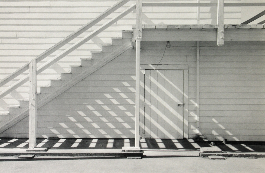 Mark Citret - Grandstand Steps, Odell, Oregon, 2007 - Howard Greenberg Gallery
