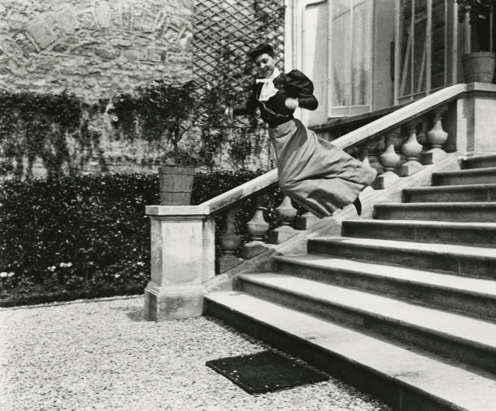 Jacques-Henri Lartigue - Cousin Bichonnade, 40 rue Cortambert, Paris, c.1905 - Howard Greenberg Gallery