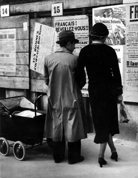 Brassaï - Francais, Reveillez-Vous !, c.1946- Howard Greenberg Gallery