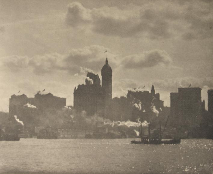 Alfred Stieglitz - Lower Manhattan, 1910 - Howard Greenberg Gallery