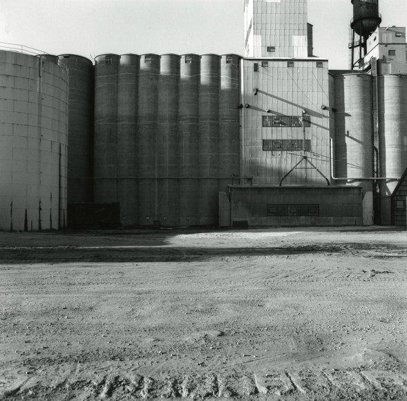 Frank Gohlke - Grain Elevators - Minneapolis, 1973 - Howard Greenberg Gallery