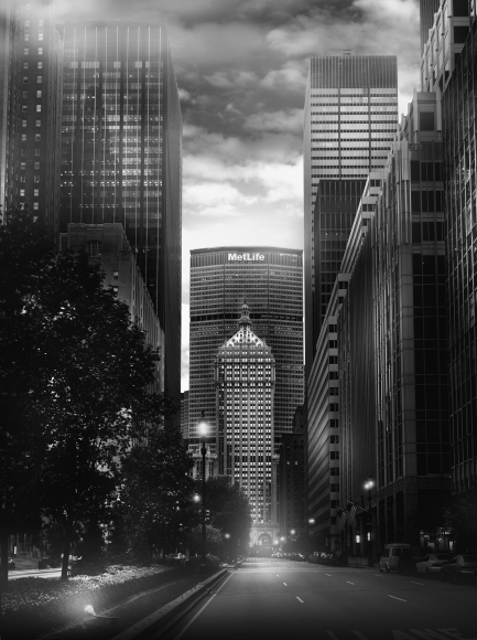 Jean-Michel Berts, Light of New York, MetLife, 2007, Sous Les Etoiles Gallery