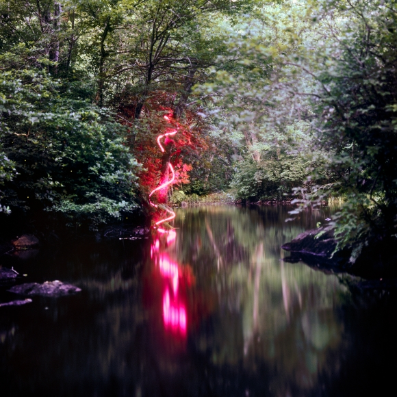 Barry Underwood, Scenes, Trace (Pink), 2008, Sous Les Etoiles Gallery