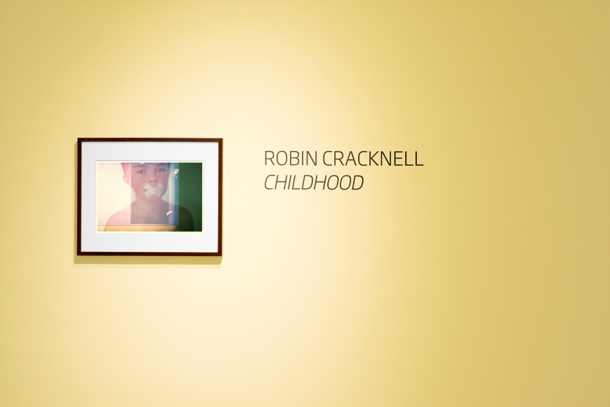 "Robin Cracknell's ""Childhood"" exhibition installation at Sous Les Etoiles Gallery, 2016"