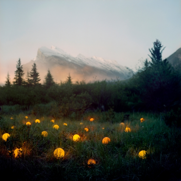 Barry Underwood, Scenes, Orange, 2007, Sous Les Etoiles Gallery