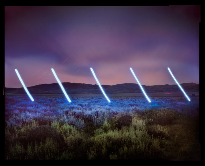 Barry Underwood, Jackson, This Land is Your Land, Wyoming (for Rainer), 2016, Sous Les Etoiles Gallery