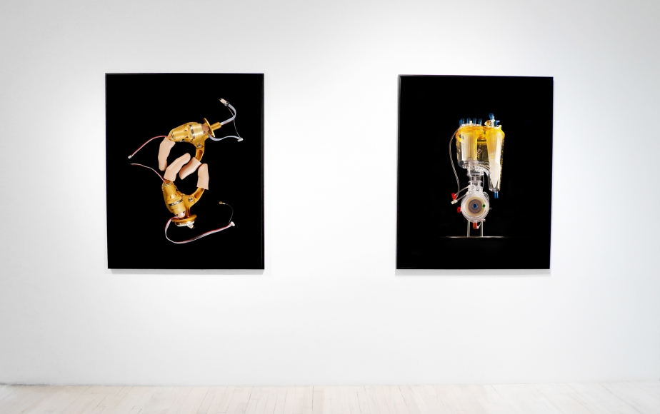 Reiner Riedler, The Lifesaving Machines installation, Sous Les Etoiles Gallery