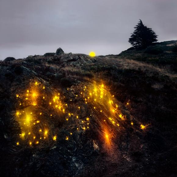 Barry Underwood, Headlands (Outcrop), 2011, Scenes, Sous Les Etoiles Gallery