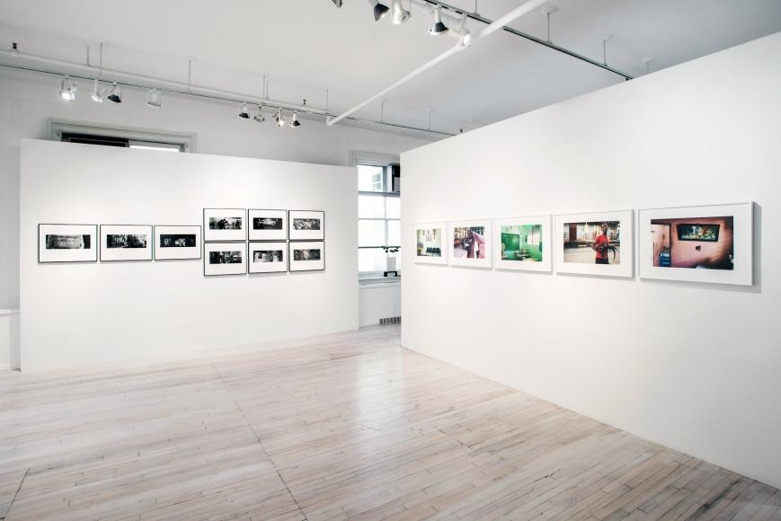 Cuba, Then & Now installation, Sous Les Etoiles Gallery
