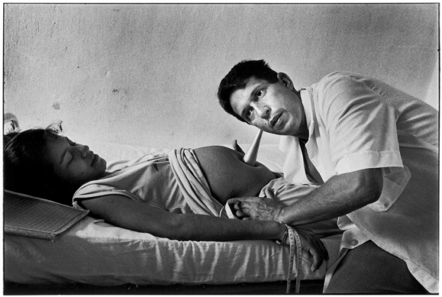 Ernesto Bazan, Cuba, Sous Les Etoiles Gallery, Bazan, Remedios, Gynecologist, fetal, Special Period