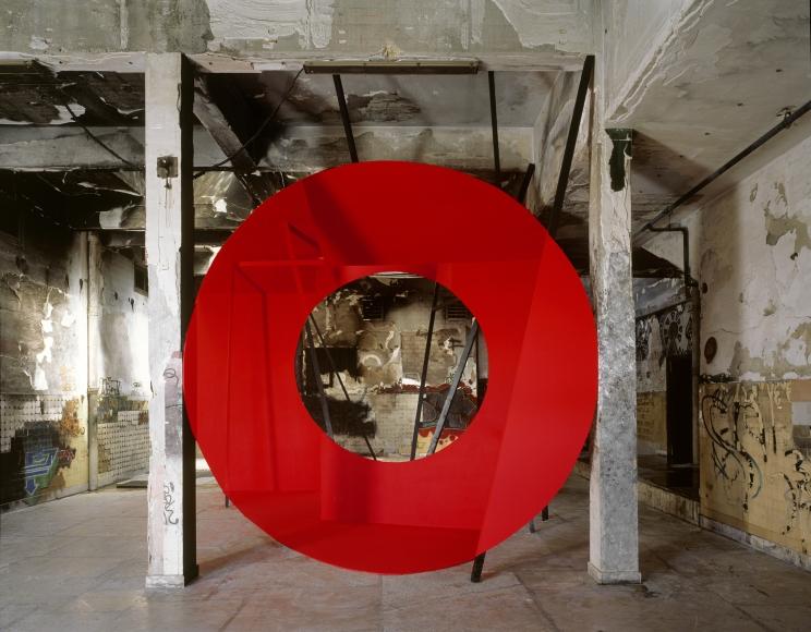 Georges Rousse, Marseille, 2011, Sous Les Etoiles Gallery