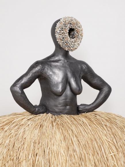 Simone Leigh, No Face (Pannier), 2018