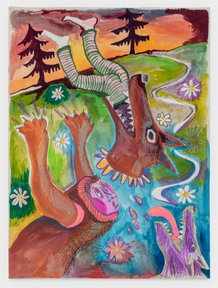 Christina Forrer Untitled (Wolves), 2020