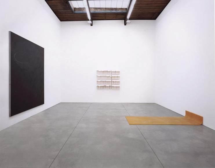 George Condo, Albert Oehlen, Gerhard Richter, Rachel Whiteread,Christopher Wool, Installation view