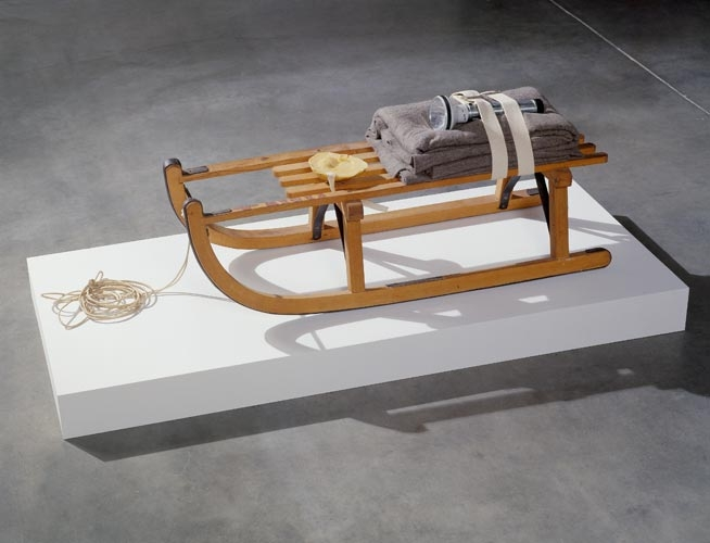 Joseph Beuys SCHLITTEN (SLED), 1969